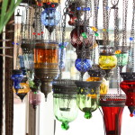 Oriental Glass Lamps