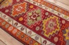 10707 Vintage Kurdish Herki Carpet Runner Rug 89x397cm (2.11 x 13ft)