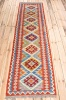 10816 Afghan Vegetable Dyed Kilim Runner Rug 78x301cm (2.6½ x 9.10½ft)
