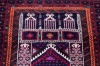 9040 Persian Baluch Vintage Rug 96x143cm (3.1½ x 4.8ft)