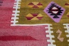 9435 Vintage Turkish Kilim Rug - Adana 86x94cm (2.10 x 3.1ft)