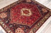 9871 Oriental Persian Shiraz Rug 168x206cm (5.6 x 6.9ft)