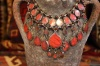 AN532 Tribal Afghan Necklace