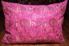 Large Bright Pink Ottoman Turkish Floor Cushion Cover 68x94cm