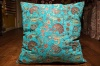 Medium Turquoise Ottoman Turkish Cushion Cover 68x68cm