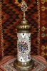 (TM51NMX) New Mixed Turkish Mosaic Electric Glass Lamp