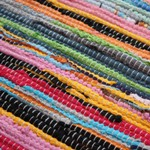 Great Quality, Heavy Duty Traditional 100% Recycled Fair Trade Rag Rugs  That Have Been Made In India. Our Rag Rugs Are Available In A Mixture Of  Sizes From ...