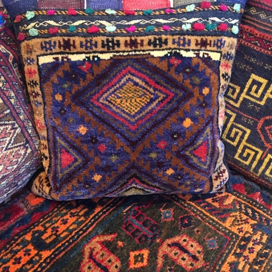 Afghan Carpet Cushions