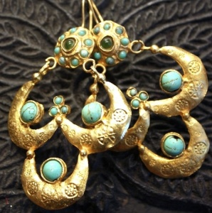 Ottoman Hand Made Earrings