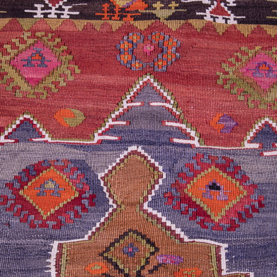 Small Kilim Rugs Under 120cm (4ft) long