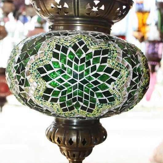 Turkish Mosaic Hanging Lamps
