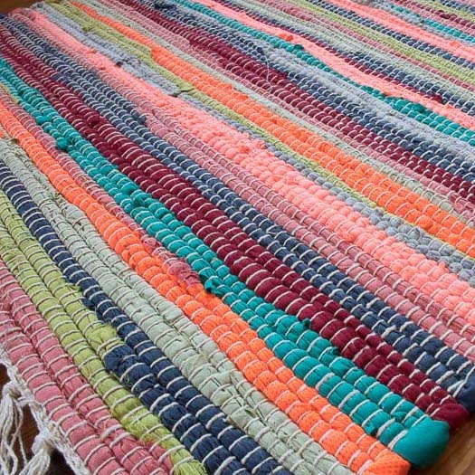 Rag Rugs Woven From 10