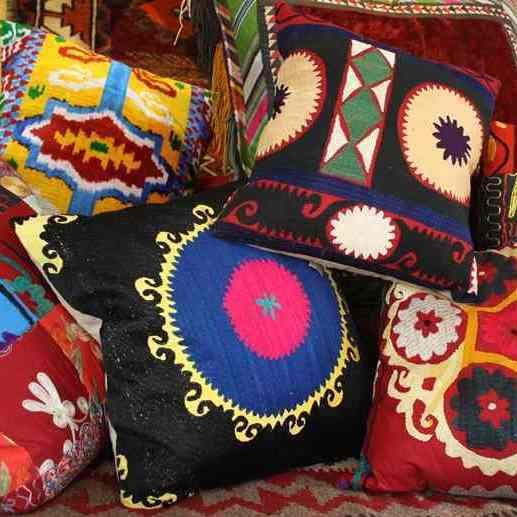 Suzani & Ikat Cushion Covers