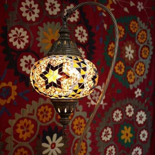 Electric Turkish Mosaic Table Lamps