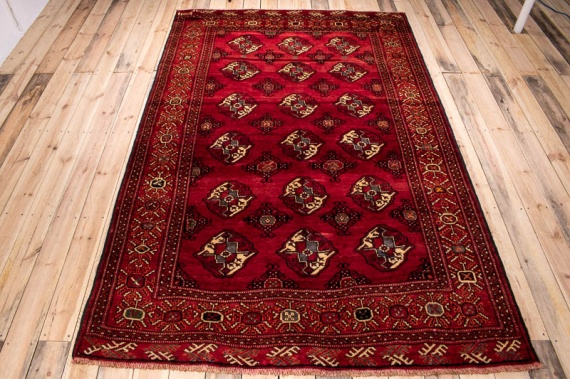 10336 Persian Kurdi Gouchan Carpet 174x270cm (5.8½ x 8.10ft)