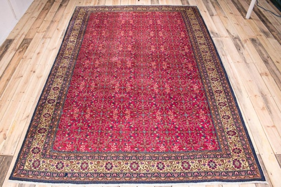 10338 Turkish Vintage Kayseri Carpet 206x300cm (6.9 x 9.10ft)