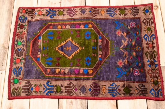 10479 Afghan Baluch Small Rug 50x73cm (1.7½ x 2.4½ft)