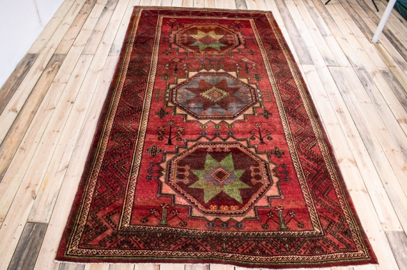 10506 Large Persian Kurdi Gouchan Carpet 177x318cm (5.9½ x 10.5ft)
