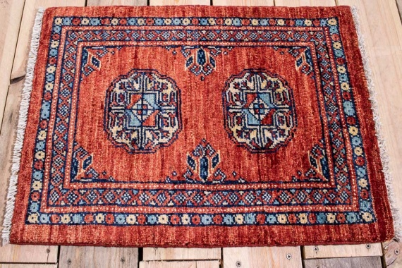 10879 Fine Afghan Ziegler Small Rug 48x64cm (1.7 x 2.1ft)