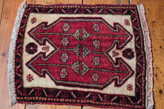 8017 Turkish Malatya Rug 51x57cm (1.8 x 1.10½ft)
