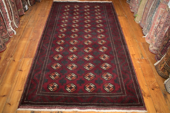 8618 Persian Baluch Rug 131x237cm (4.3½ x 7.9ft)