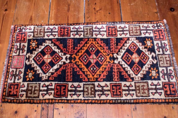 8970 Small Turkish Savak Rug 52x92cm