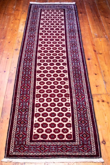 9450 Persian Baluch Runner Rug 88x291cm (2.10½ x 9.6½ft)