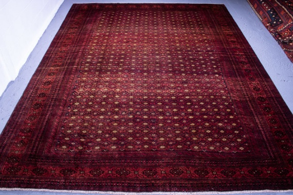 9610 Large Fine Persian Baluch Rug 277x372cm (9.1 x 12.2½ft)