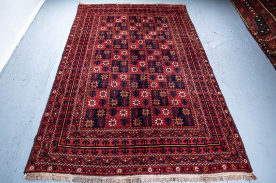 9614 Persian Kurdi Gouchan Carpet 187x316cm (6.1½ x 10.4½ft)