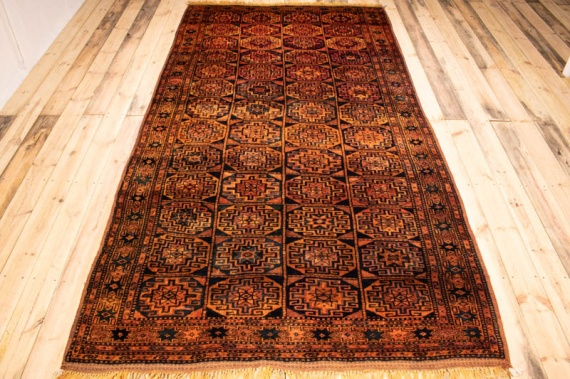 9806 Persian Kurdi Gouchan Carpet 164x319cm (5.4½ x 10.5½ft)