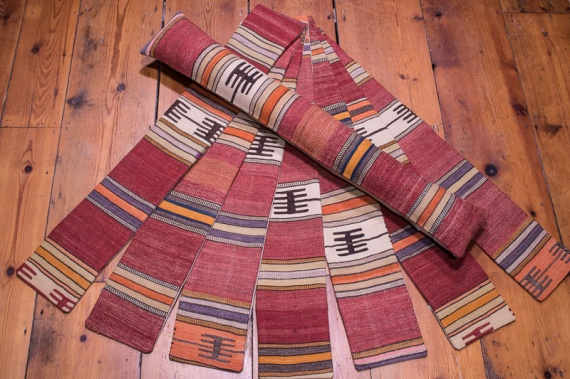 Turkish Kilim Draught Excluder - Standard 15x90cm