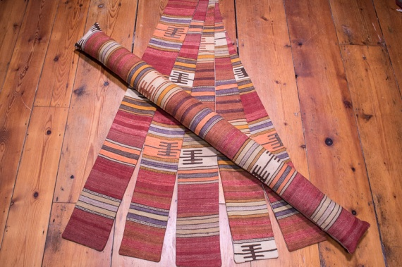 Turkish Kilim Draught Excluder - Long 15x133cm