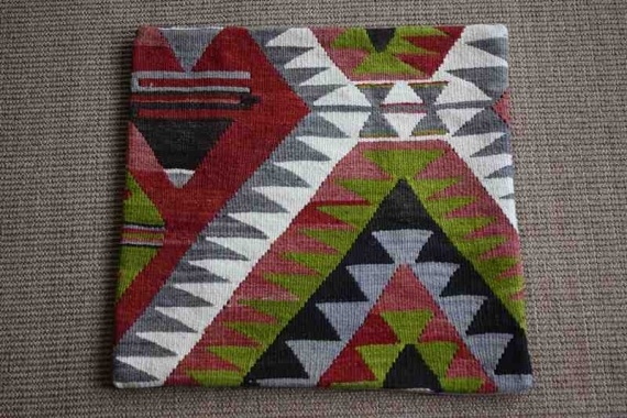 KC1022 Turkish Kilim Cushion Cover 44x45cm