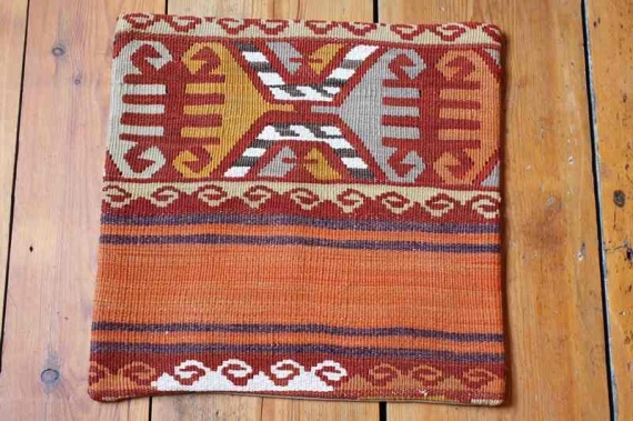 KC1273 Turkish Kilim Cushion Cover 40x40cm