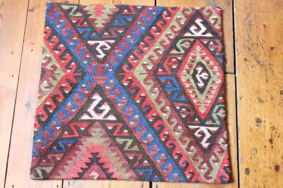 KC1293 Turkish Kilim Cushion Cover 50x50cm