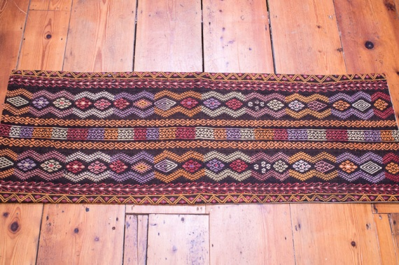 KC1350 Turkish Long Kilim Bolster Cushion Cover 43x119cm