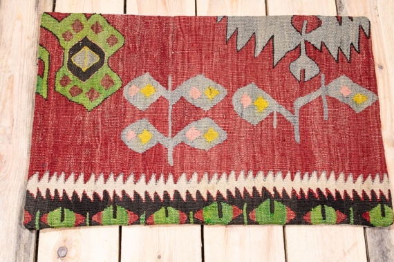 KC1576 Turkish Kilim Cushion Cover 40x60cm