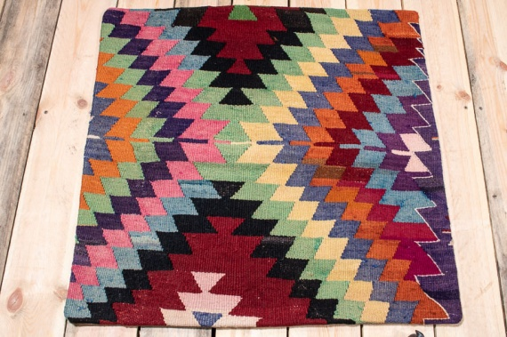 KC1588 Turkish Kilim Cushion Cover 70x70cm