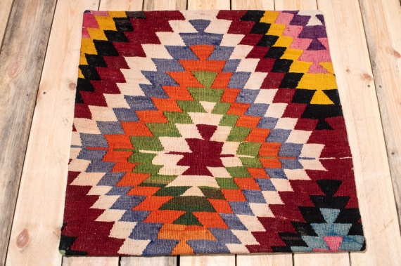 KC1591 Turkish Kilim Cushion Cover 70x70cm