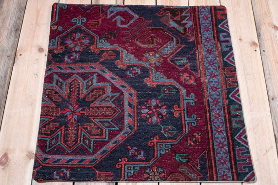 KC1592 Azerbaijan Kilim Cushion Cover 70x70cm