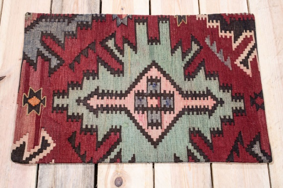 KC1611 Turkish Kilim Cushion Cover 40x60cm