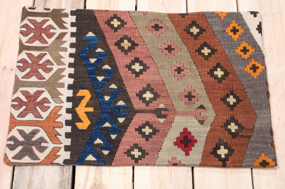 KC1614 Turkish Kilim Cushion Cover 40x60cm