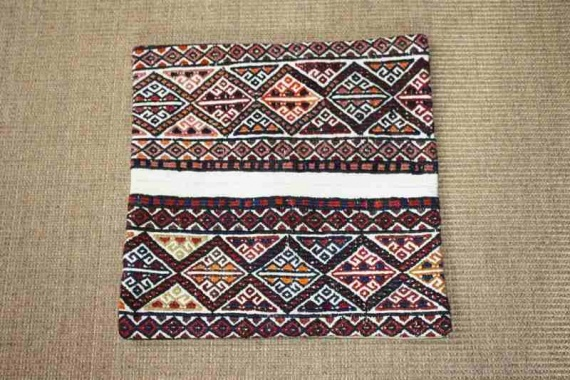 KC797 Turkish Kilim Cushion Cover 40x40cm