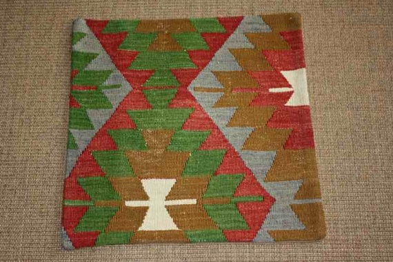KC824 Turkish Kilim Cushion Cover 45x45cm