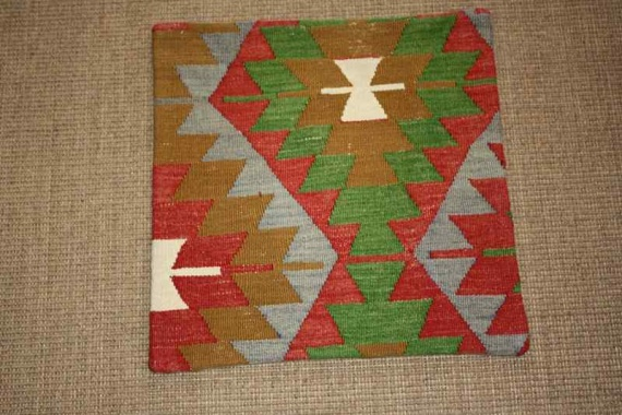 KC825 Turkish Kilim Cushion Cover 46x45cm