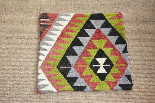 KC516 Turkish Kilim Cushion Cover 45x43cm