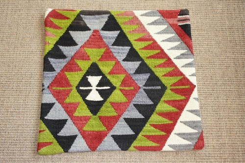 KC520 Turkish Kilim Cushion Cover 44x44cm