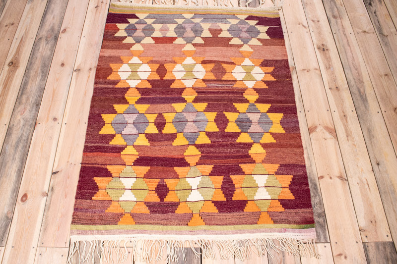 5104 Turkish Milas Kilim 102x145cm (3.4 x 4.9ft)