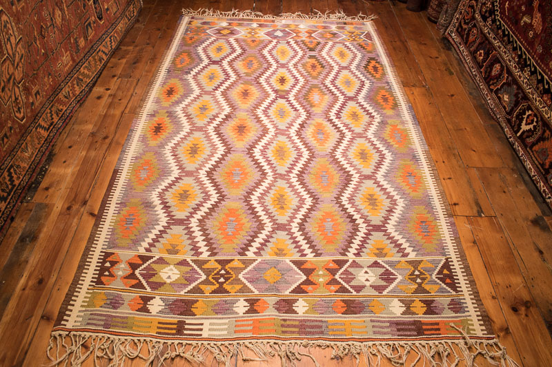 Turkish Antalya Kilim 156x268cm