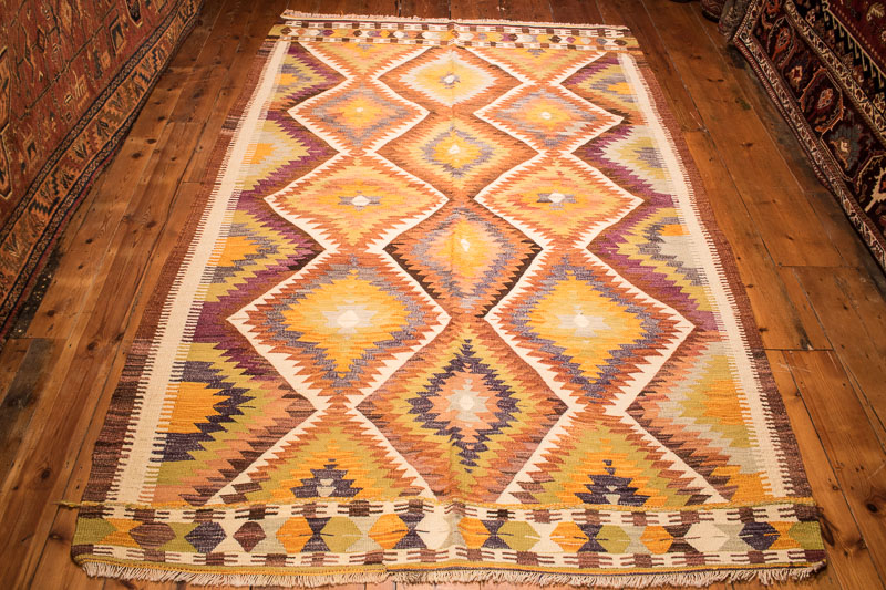 Turkish Antalya Kilim 162x262cm
